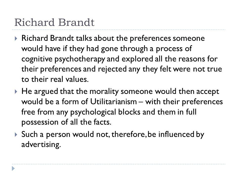 Richard Brandt
