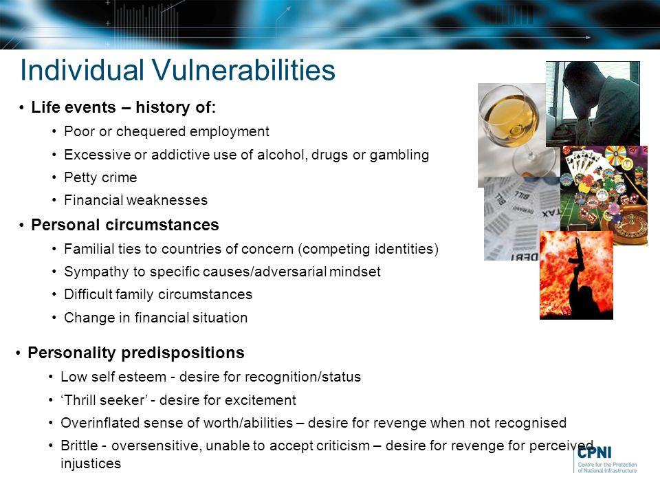Individual Vulnerabilities