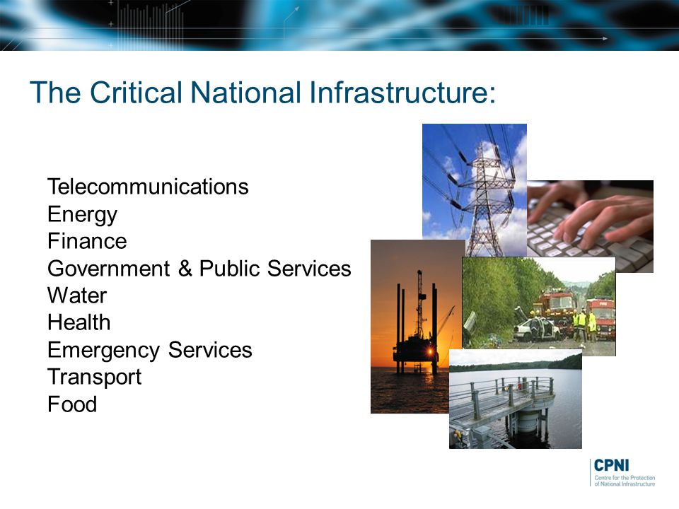 The Critical National Infrastructure: