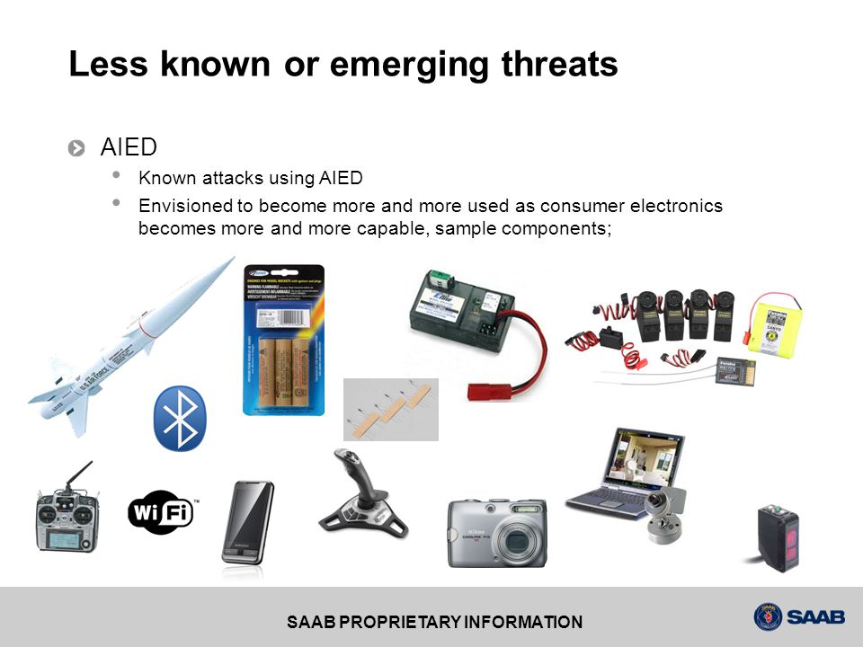 Less known or emerging threats