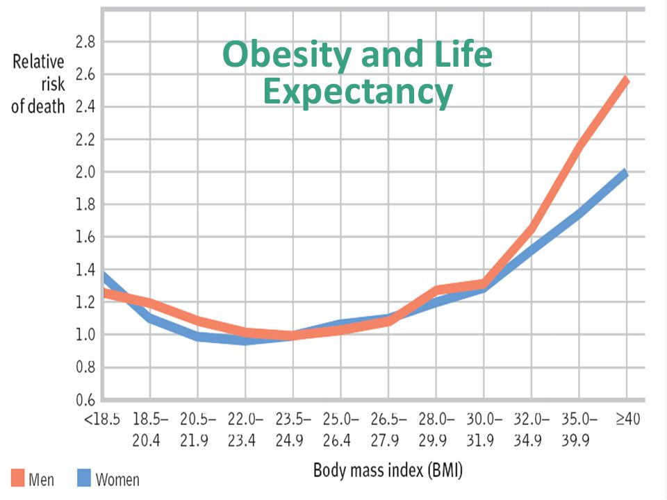 Obesity and Life Expectancy