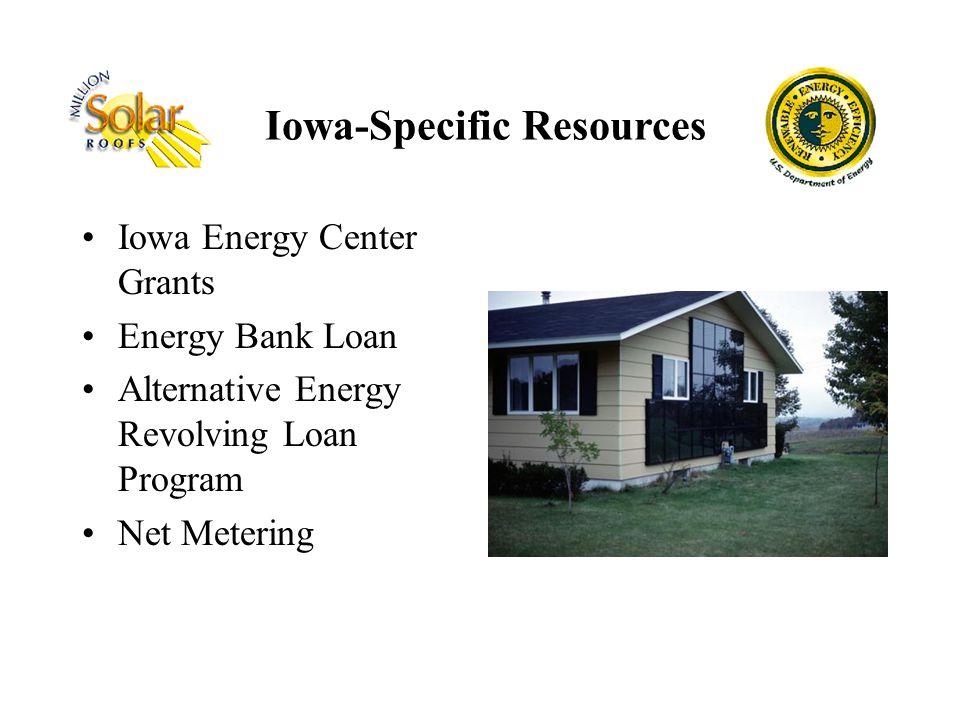 Iowa-Specific Resources