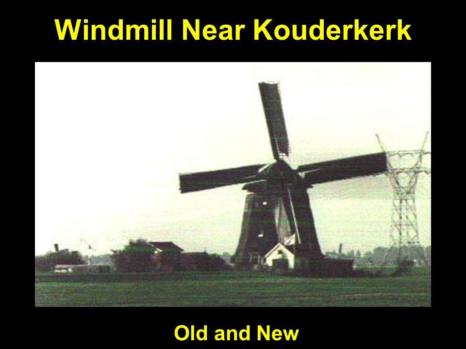 Windmill Near Kouderkerk