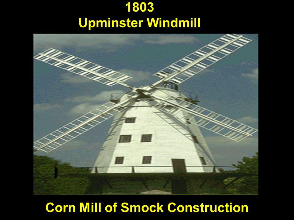 Corn Mill of Smock Construction