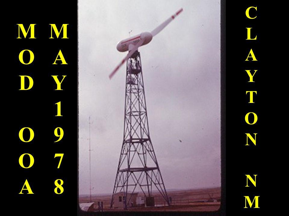 MOD OOA CLAYTON NM MAY 1978