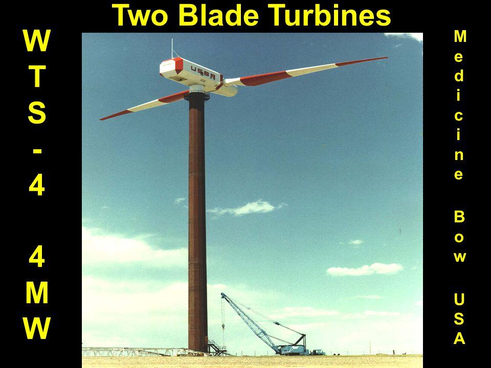 WTS - 4 4 MW Two Blade Turbines