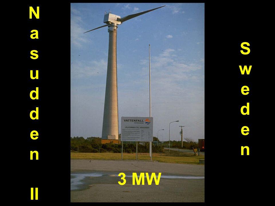Nasudden II Sweden Sweden 3 MW