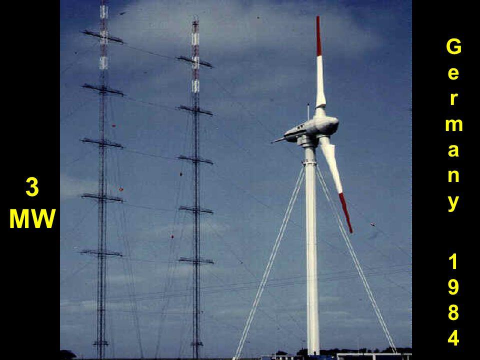 Germany 1984 3 MW