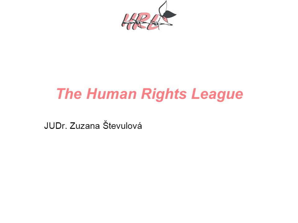 The Human Rights League