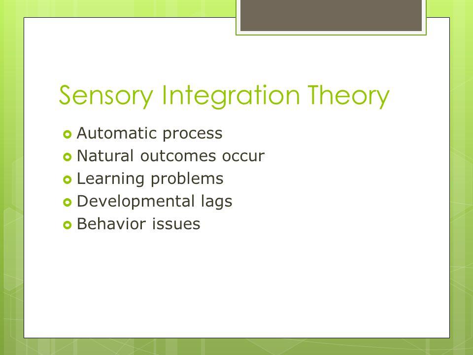 Sensory Integration Theory