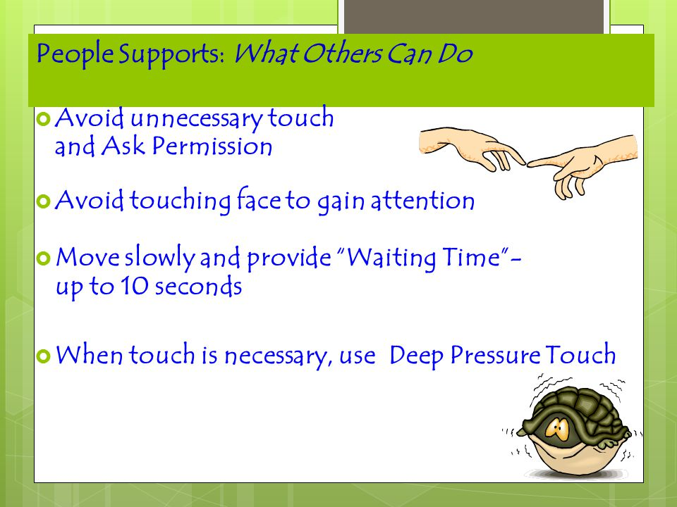 People Supports: What Others Can Do