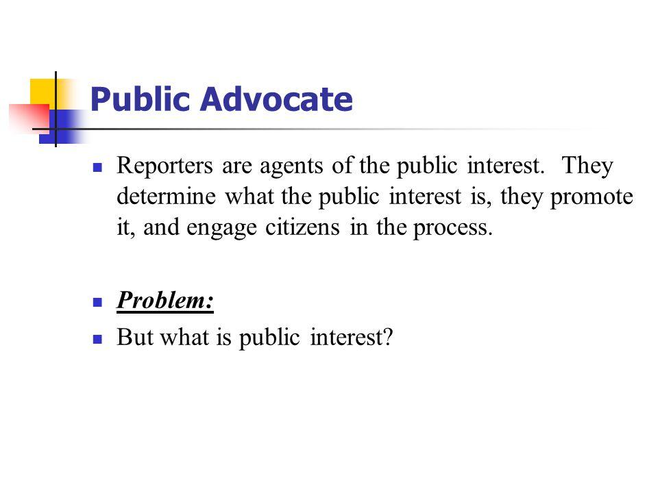 Public Advocate