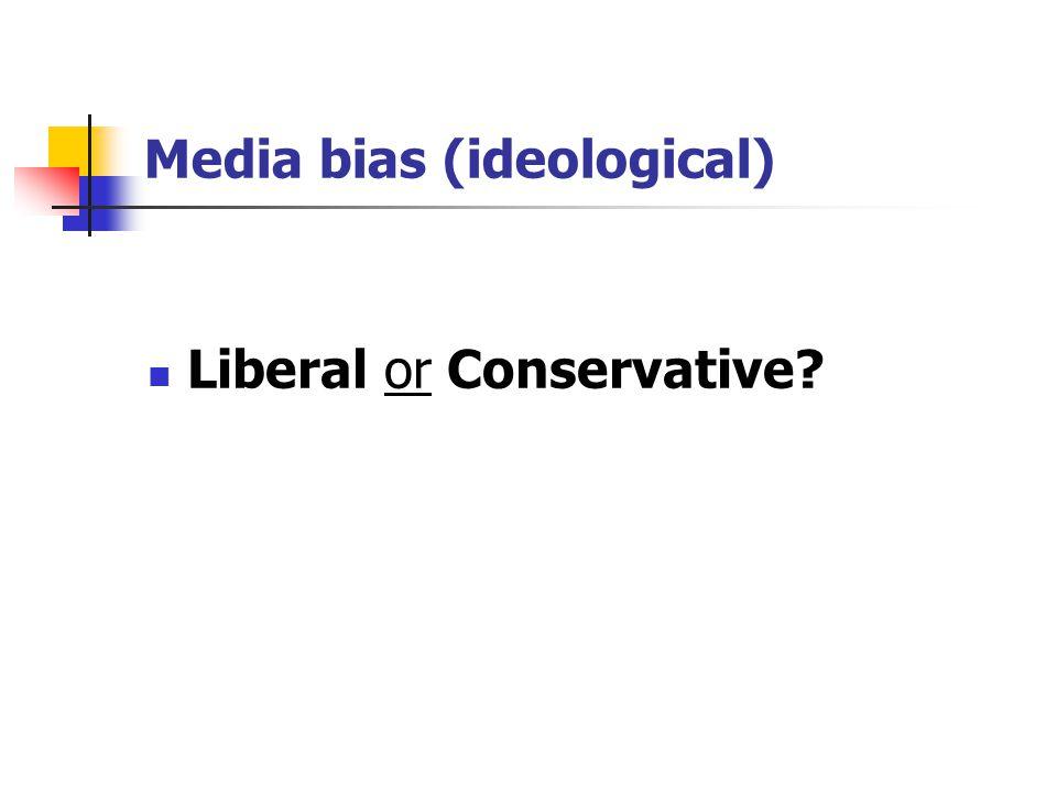 Media bias (ideological)