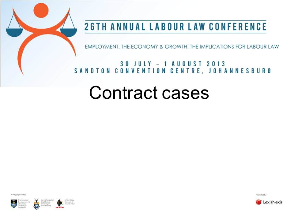 Contract cases