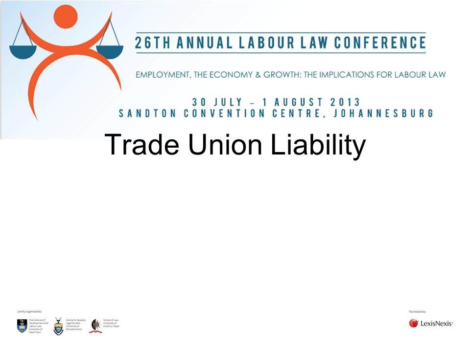 Trade Union Liability