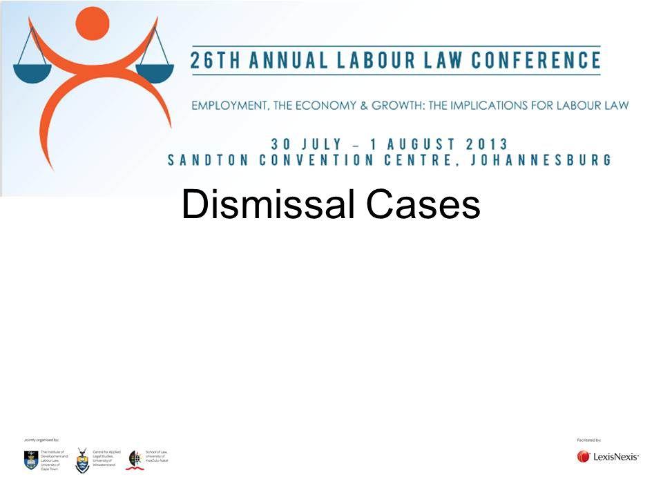 Dismissal Cases