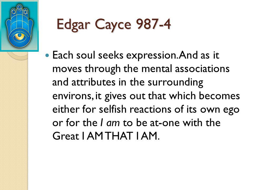 Edgar Cayce 987-4