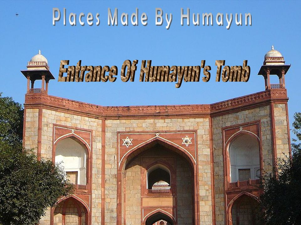 Entrance Of Humayun s Tomb