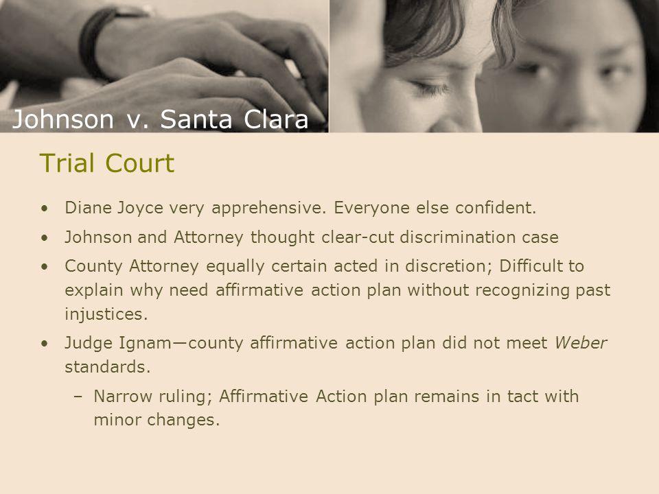 Johnson v. Santa Clara Trial Court