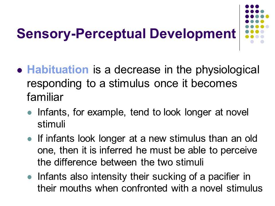 Sensory-Perceptual Development
