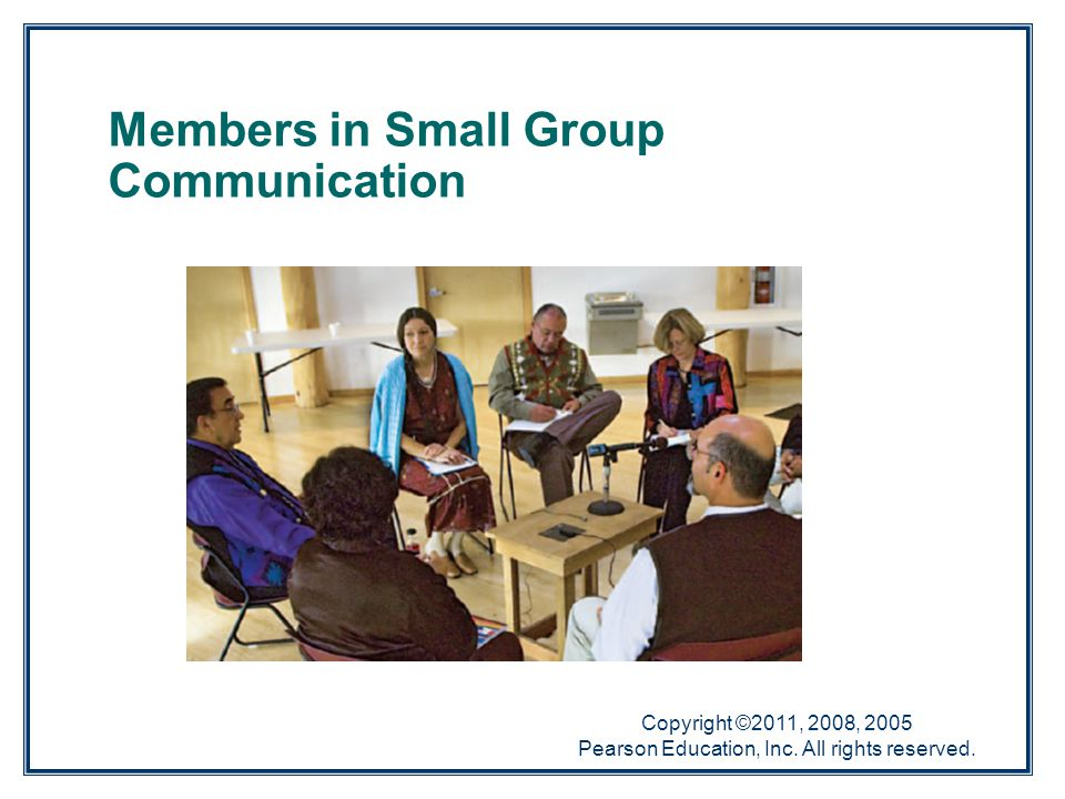 Members in Small Group Communication
