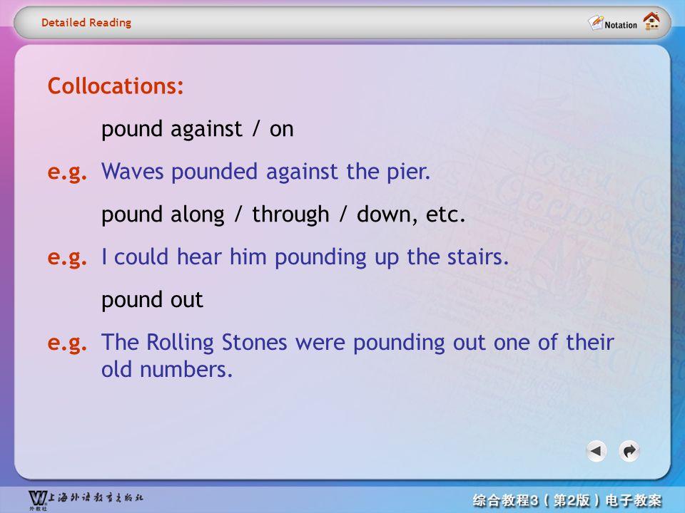 Detailed reading– pound2