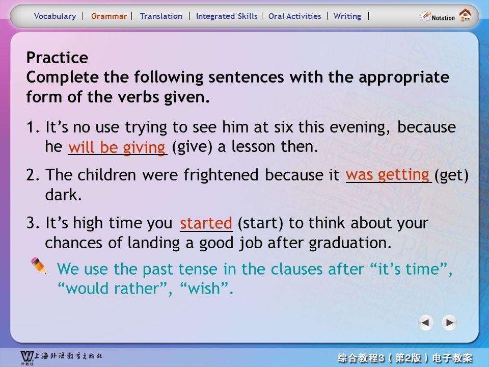 Consolidation Activities- Grammar2.