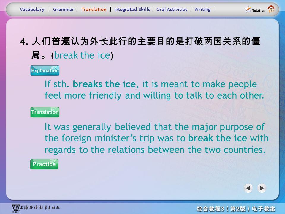 Consolidation Activities- Translation4.1