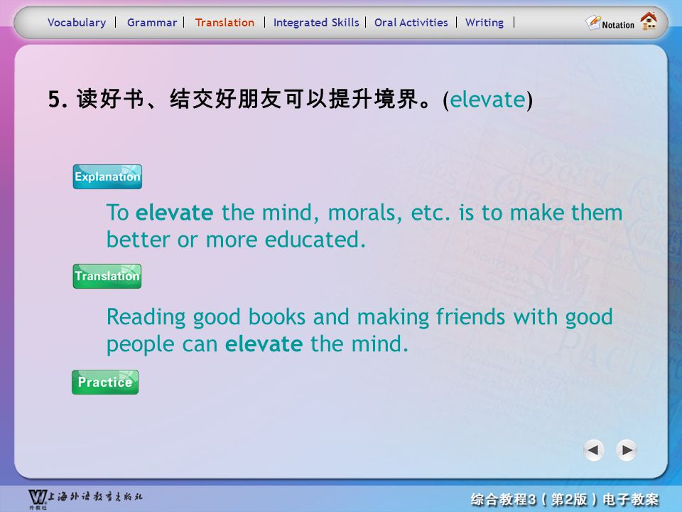 Consolidation Activities- Translation5.1