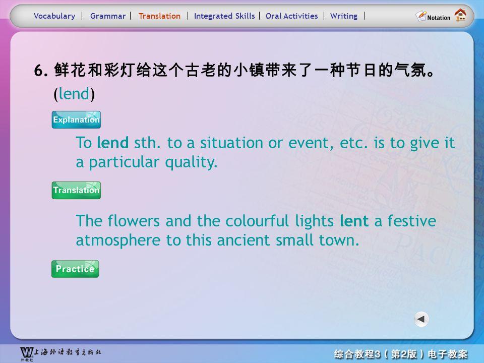 Consolidation Activities- Translation6.1