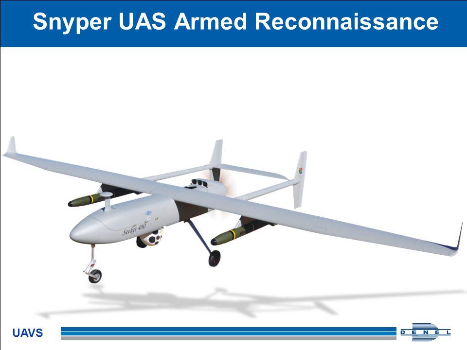 Snyper UAS Armed Reconnaissance