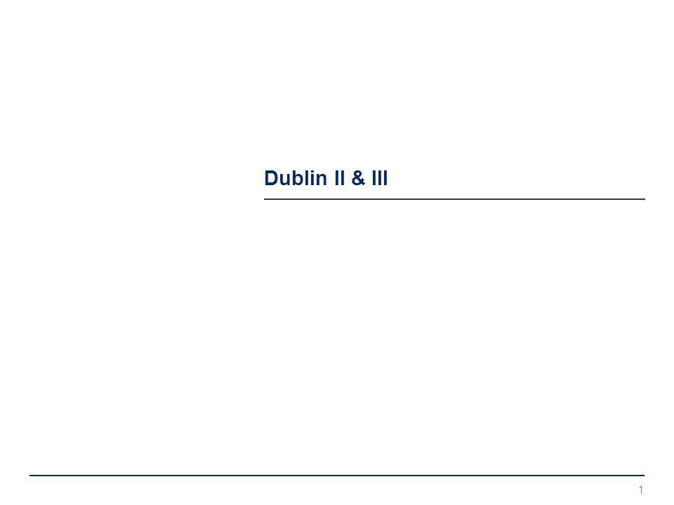 Dublin II & III