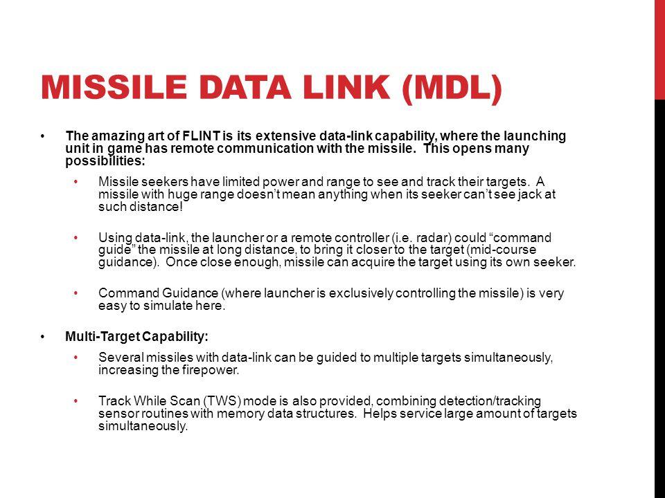 MISSILE DATA LINK (MDL)
