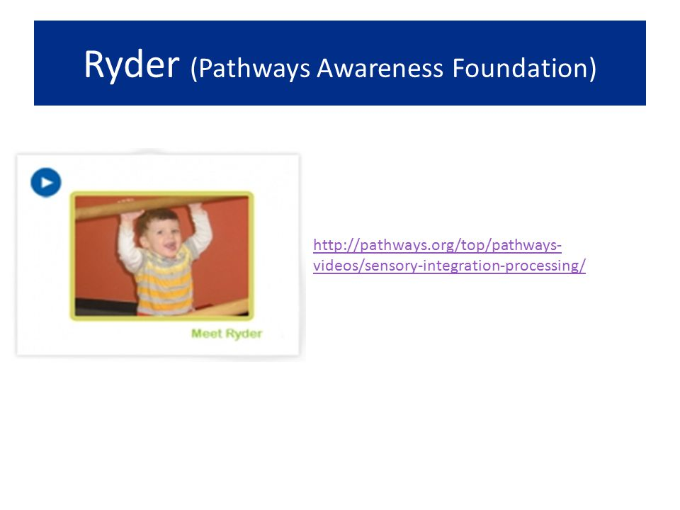 Ryder (Pathways Awareness Foundation)