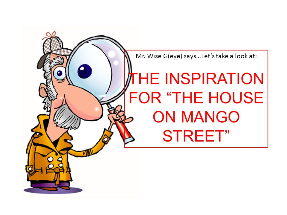 THE INSPIRATION FOR THE HOUSE ON MANGO STREET