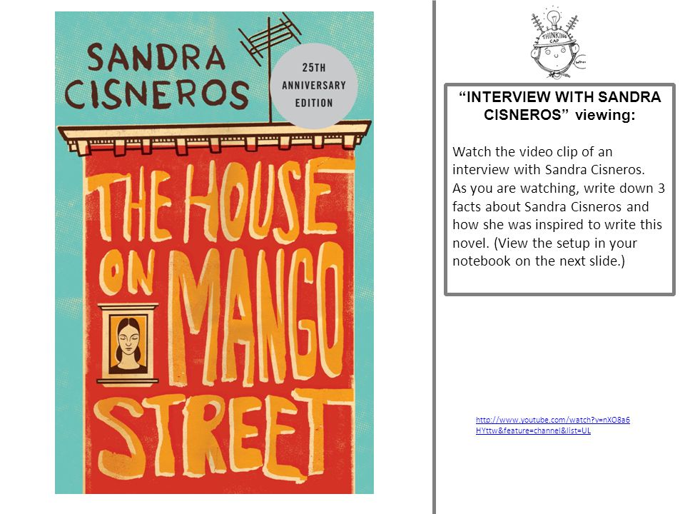 INTERVIEW WITH SANDRA CISNEROS viewing: