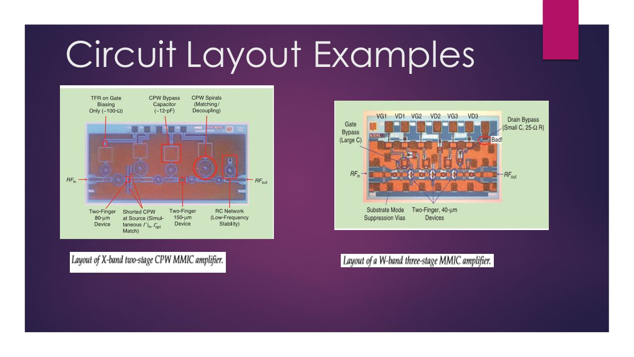 Circuit Layout Examples