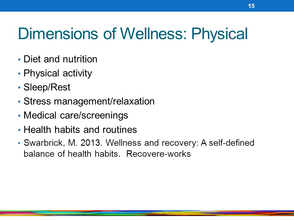 Dimensions of Wellness: Physical