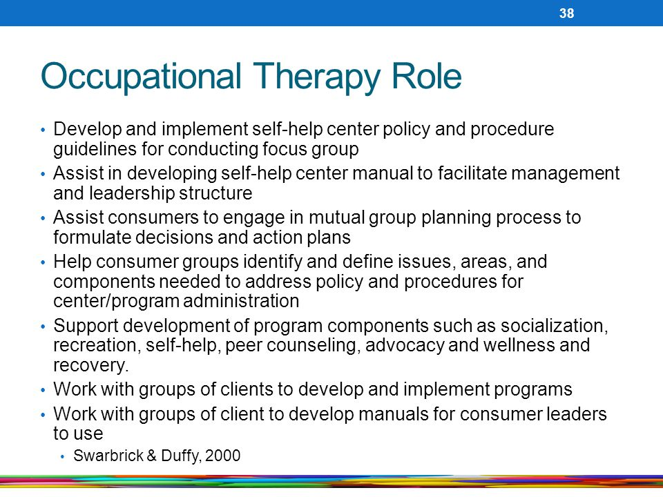 Occupational Therapy Role