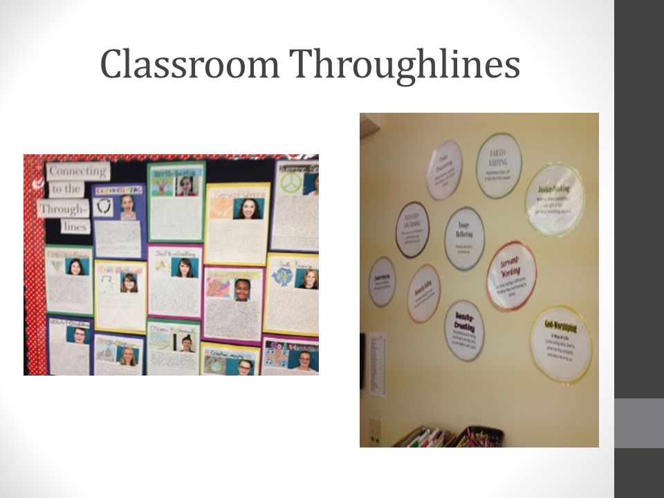 Classroom Throughlines