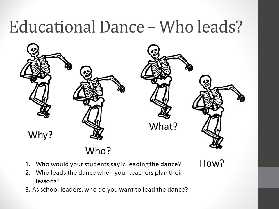 Educational Dance – Who leads