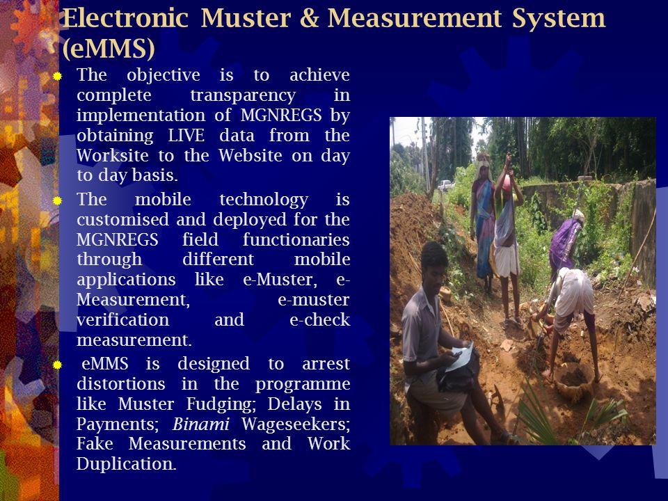 Electronic Muster & Measurement System (eMMS)