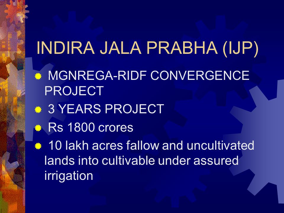 INDIRA JALA PRABHA (IJP)