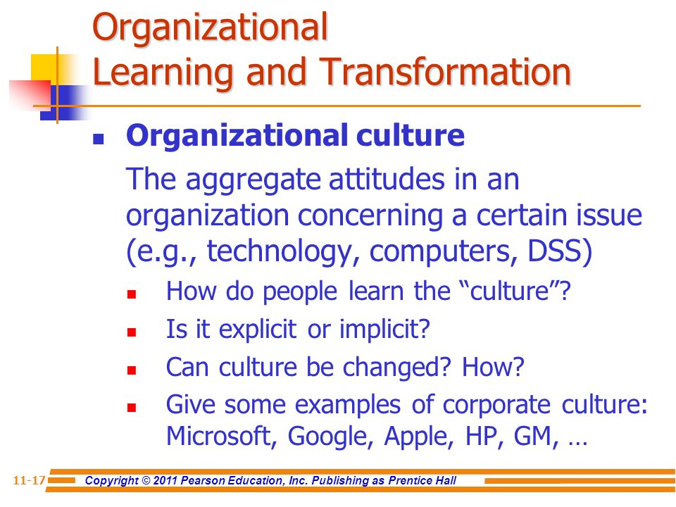 apple as a learning organization The problem some organizations have is that its difficult to show the roi on that kind of loose informal learning its a lot easier to try to exploit what they already know and turn it into marketable products problem is that later they find themselves having fallen behind.