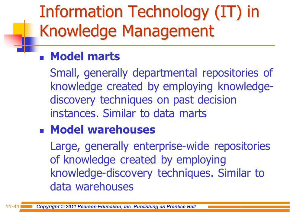 Information Technology (IT) in Knowledge Management