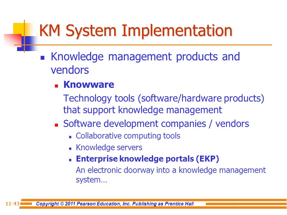 KM System Implementation
