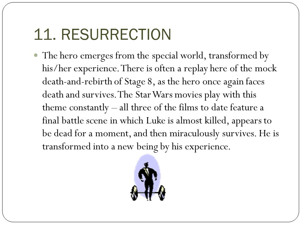 11. RESURRECTION