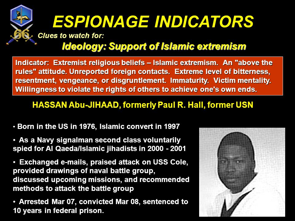 HASSAN Abu-JIHAAD, formerly Paul R. Hall, former USN