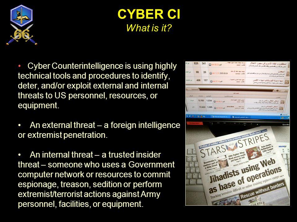 CYBER CI What is it