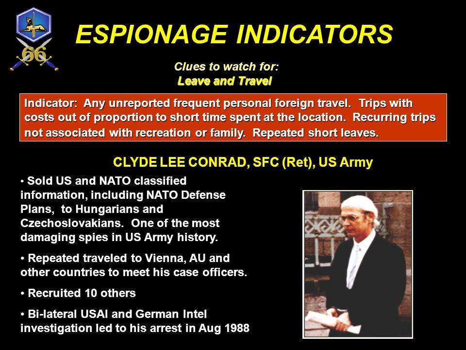 CLYDE LEE CONRAD, SFC (Ret), US Army